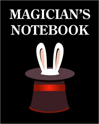 Download Magician's Notebook: College Ruled Writer's Notebook for School, the Office, or Home! (8 x 10 inches, 120 pages) PDF