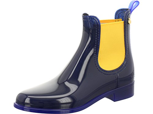 Lemon Jelly Women's Pisa Chelsea Boots, Metal Grau Blue