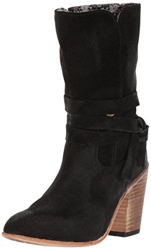 Freebird Women's Riot Western Boot, Black Suede, 7 B US by Freebird