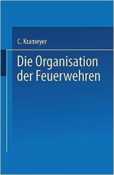 Book Die Organisation der Feuerwehren