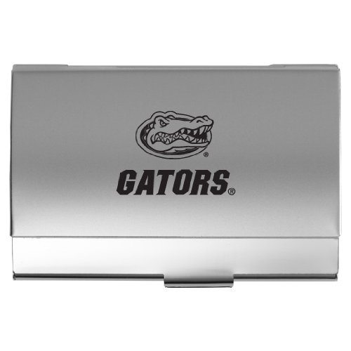 Florida gators business card holder gators business card holder our university of florida two tone business card holder proudly displays your school spirit reheart Images