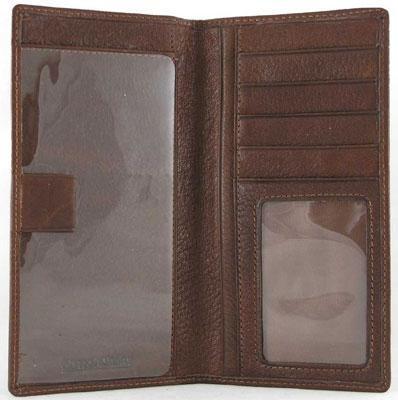ere Men's Wallets Deluxe Checkbook Cover - Black (Osgoode Marley Cashmere Wallet Bag)