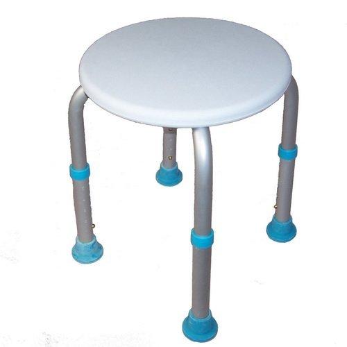 Marvelous Amazon.com: MedMobile Round Bath Stool With Adjustable Legs: Health U0026  Personal Care