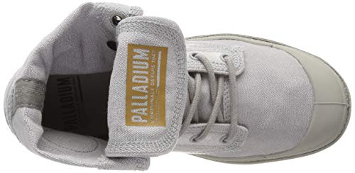 U Alto Baggy Collo A Unisex Sneaker Palladium Denim BEzqY