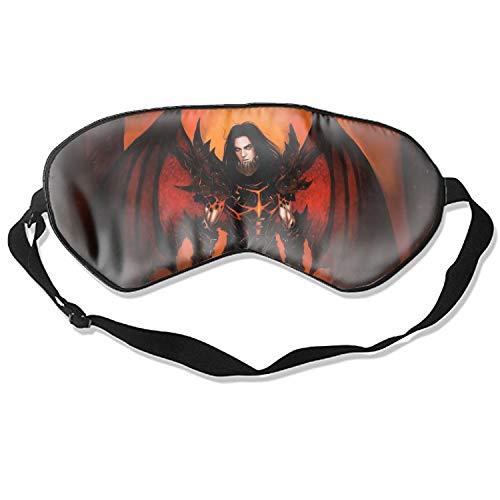 Eye Mask for Sleeping, Fantasy Angel World of Warcraft Deathwing (World Warcraft) Dragon Demon Dark Man Wings Armor 3D Eye Mask Shade Cover Rest Sleep Eyepatch Blindfold Shield Travel Sleeping Aid