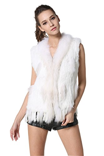 White Rabbit Fur Coat - 3