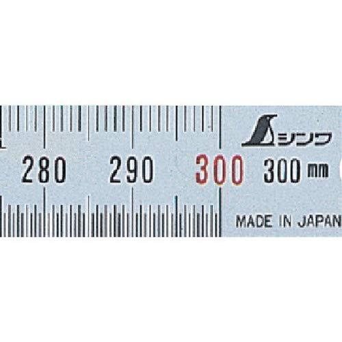 Shinwa Sokutei Linear Scale silver 30cm 13250 Narrow width Japan Import