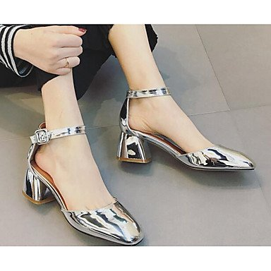 5 Zormey US8 5 Spring Gray Red EU39 Comfort Flat Heels Casual CN40 Women'S UK6 Black Pu PfvfA6S