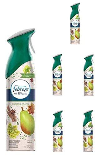 Febreze Limited Holiday Edition Air Effects Room Spray AUTUMN CHARM 9.7 oz (6 (Holiday Sprays)