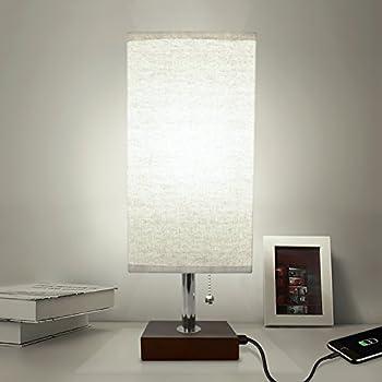 Brightech Maxwell Led Usb Side Table Amp Desk Lamp Modern