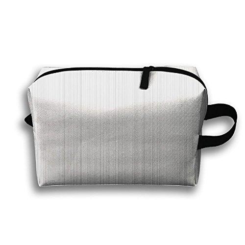 Vertical Design Cosmetic Bags Makeup Organizer Bag Pouch Zipper Purse Handbag Clutch Bag -