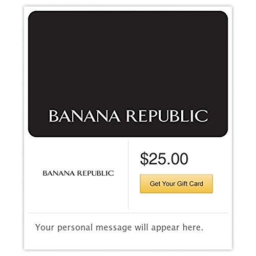 Banana Republic Gift Cards - E-mail Delivery from Banana Republic