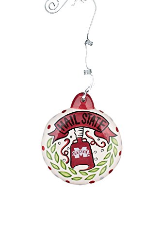 - Glory Haus 42000616 Mississippi State Puff Ornament, Multicolor