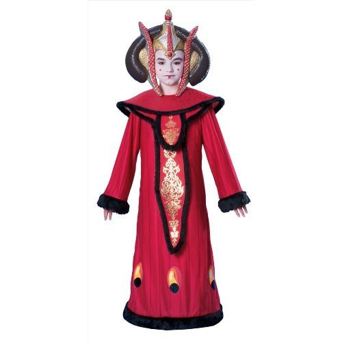 Star Wars Queen Amidala Child's Costume, Large by Rubie's (Star Wars Queen Amidala Costume)