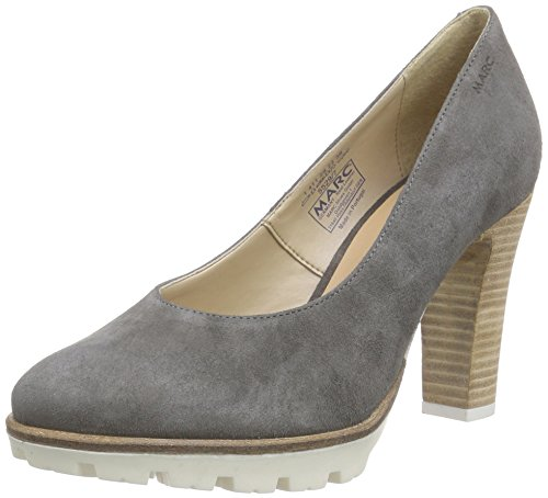 Marc Shoes Shakira - Tacones Mujer Gris - Grau (grey 150)