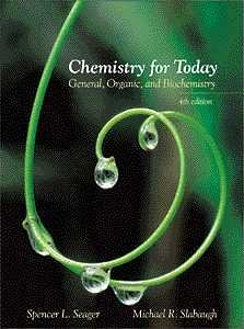 Chemistry for Today: General, Organic, and Biochemistry (with InfoTrac)