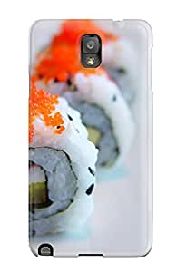 New Galaxy Note 3 Case Cover Casing(sushi)