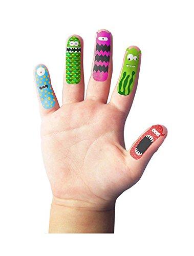 NPW-USA Finger Monsters Temporary Tattoos (20 Count) ()