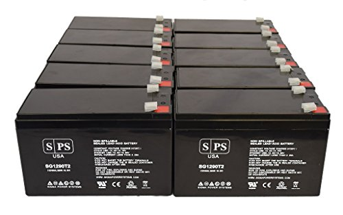 Maruson Technology Power NET-1000 ART 12V 9Ah UPS Replacement Battery (10 Pack) - Maruson Net