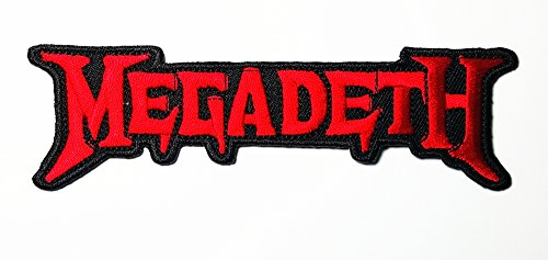 MEGADETH Music Rock Heavy Metal Punk Music Band Logo Patch Sew Iron on Embroidered Badge Sign Costume Gift
