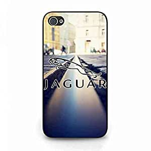 Jaguar Car Logo Phone Funda Design For IPhone 4/IPhone 4S,A Fantastic Gift To Your Friends