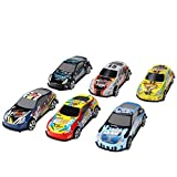 Kalining Great Gift Mini Toy Cars Playset for Kids 6-Pack