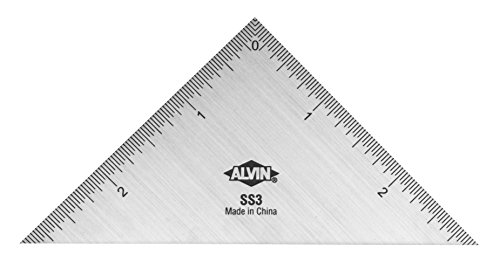 Alvin SS3 Triangle Stainless Steel