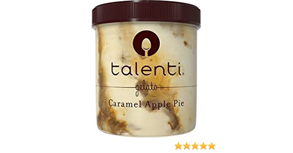 Talenti Caramel Apple Pie Gelato, Pint (8 Count): Amazon.com: Grocery & Gourmet Food