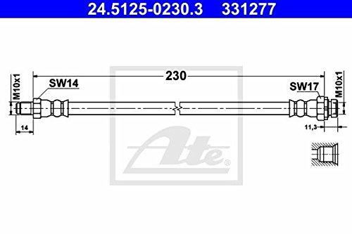 ATE 24512502303 24.5125-0230.3 Bremsschl/äuche /& Zubeh/ör