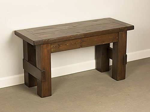 Farmhouse Bench, Wood Dining Bench, Entry Bench