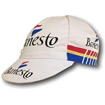 Team 17 Positz Banesto - Gorra de Ciclismo Retro de Miguel ...