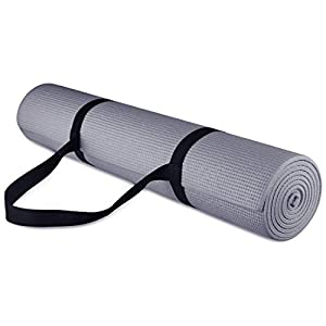 Well-Being-Matters 41bJ7rO-lbL._SS300_ BalanceFrom GoYoga All-Purpose 1/4-Inch High Density Anti-Tear Exercise Yoga Mat with Carrying Strap