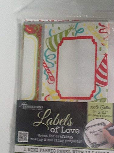 Fabric Expressions Crafting, Sewing & Quilting Fabric Labels of Love 13 Labels