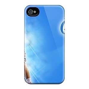 Anti-scratch And Shatterproof Basketball Phone Case For Iphone 4/4s/ High Quality Tpu Case Kimberly Kurzendoerfer