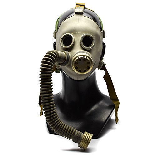 Genuine Original Soviet Russian Child Gas Mask PDF-7 S1 with hose USSR face mask Respirator Novelty use deco (Small) -