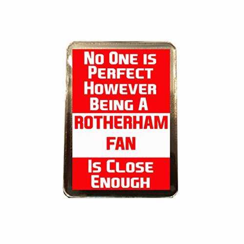 fan products of Rotherham United F.C - No One is Perfect Fridge Magnet