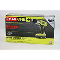 Ryobi P828 One+ 18V Lithium-Ion Drill/Driver Kit Advantages