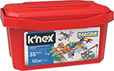 K'NEX Imagine - Click & Construct Value Building Set - 522Piece - 35 Models - Engineering Educational Toy Building Set