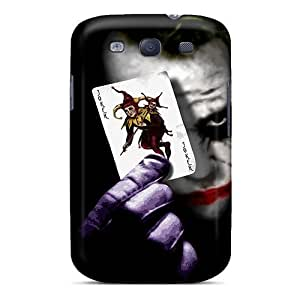 Slim Fit pc Protector Shock Absorbent Bumper Black Joker Case For Galaxy S3