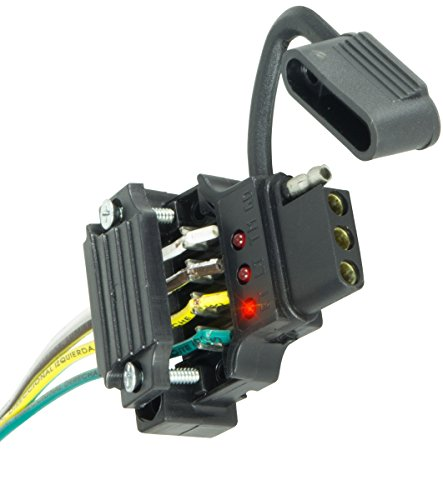 Hopkins 48192 Endurance Quick Fix Trailer Side 4-Flat Connector (Wire Vehicle Trailer)