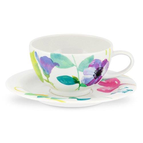 PORTMEIRION Water Garden Breakfast cup & saucer