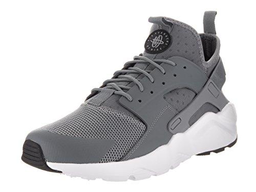 Nike Mens Huarache Run Ultra Running Sneaker Cool Grigio / Nero-bianco