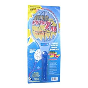 BugKwikZap YBUGZP013 Pinwheel Most Powerful Bug Zapper for Large Bugs Takes 2 C Batteries, 4000-volt, 1-Pack