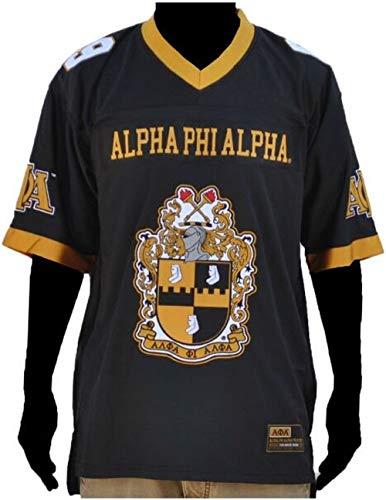 (Big Boy Headgear Alpha Phi Alpha Football Jersey Manly Deeds [M])