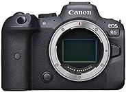 Canon EOS R6 Full-Frame Mirrorless Camera with 4K Video, Full-Frame CMOS Senor, DIGIC X Image Processor, Dual