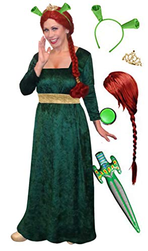 Sanctuarie Designs Fiona Plus Size Supersize Halloween Costume Deluxe Kit