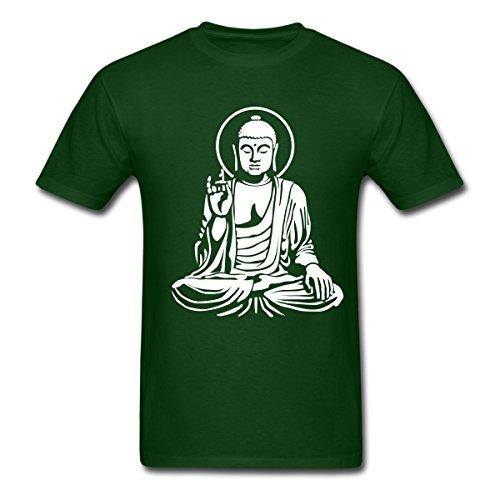 Buddha-Statue-Buddhism-Mens-T-Shirt-by-Spreadshirt
