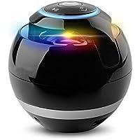 VICTORSTAR @ Sans Fil Bluetooth Haut-Parleurs Avec Caisson de Basses Mini-tour Hi-Fi Orateur Portable Haut-Parleurs pour les mains-libres Intérieur Extérieur Haut-Parleurs Bluetooth pour IPhone IPad Android Avec Multi-Couleurs