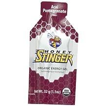 Honey Stinger Organic Energy Gel Acai-Pomegranate - 24 - 1.1 oz Packets