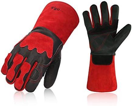 Vgo Premium Leather Welding Fireplace